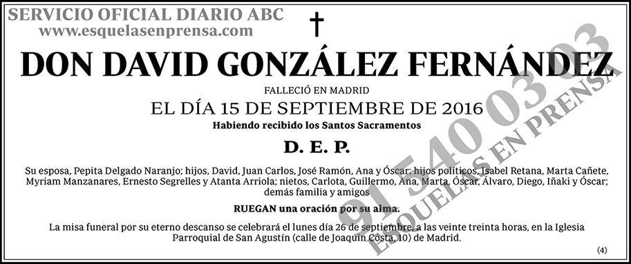 David González Fernández